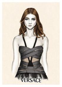 Versace SS2014 von Tania Santos