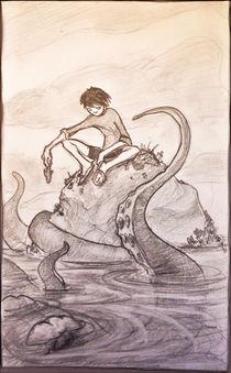 Sketch from ocean von bear