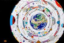 """Universum""""Teilnahme V.INT. Biennale Hamburg 2014 von Künstler Ralf Hasse"""