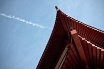 red chinese roof von rgb cmyk