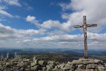Gipfelkreuz am Lusen von Andreas Müller