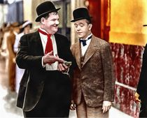 Laurel & Hardy (Thicker Than Water) by Vincent Monozlay