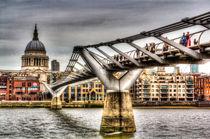 The Millennium Bridge von David Pyatt