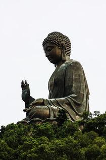 Buddha Statue von rgb cmyk