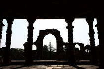 Qutab Minar Ruin - New Delhi - India by Aidan Moran