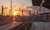sunny railway by rgb cmyk