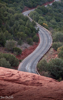 Road to Sedona Airport Vortex by Jim DeLillo