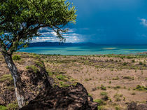 Blue Storm over Lake Baringo by Jim DeLillo