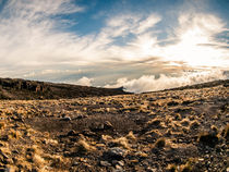 Sunset Vista on Mt. Kilimanjaro von Jim DeLillo