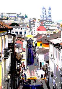 streets of Quito von reisemonster