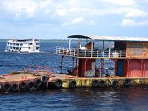 Schiffsanlege in Manaus von reisemonster