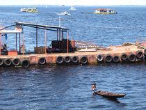 Anlegestelle in Manaus von reisemonster
