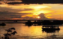 Sonnenuntergang in Alter do Chao von reisemonster