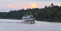 Sonnenuntergang in Brasilien / Amazonas von reisemonster