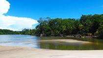 weißer Sand am Amazon  von reisemonster