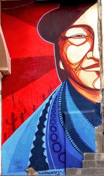 Streetart in La Paz von reisemonster