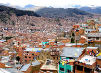 the Streets from La Paz  by reisemonster