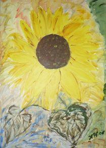 Sonnenblumenträume von Heide Pfannenschwarz