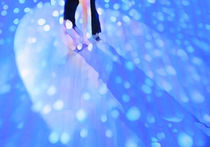Ballroom dance floor abstract 5, digital painting von Christina Rahm