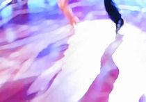Ballroom dance floor abstract 19, digital painting by Christina Rahm