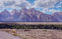 Grand Teton -- Digital Art von John Bailey