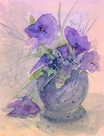 Violets by Christina Rahm
