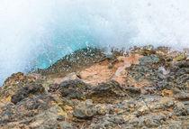 Azure Mediterranean wave von Christina Rahm