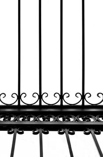 Wrought Iron Bars von Christina Rahm