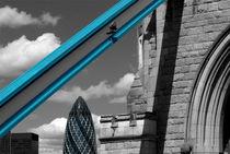 London City Frame von Malc McHugh