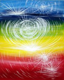 Lebe dein Goettliches Licht by Karin Riener