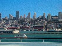 Cruising the Bay -- Digital Art von John Bailey