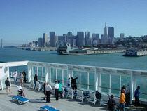 Leaving San Francisco -- Digital Art von John Bailey