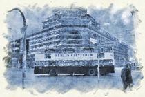 Berlin City Bus - by Viktor Peschel