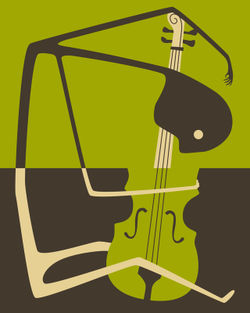 Blues-cello