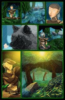 A Última Fábula comic page von Glauber Lopes