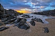 Barricane Beach sunset von Dave Wilkinson