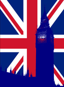 Big Ben by Marek Nebesky