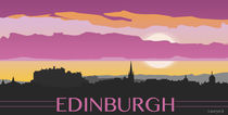 edinburgh skyline by lauryn