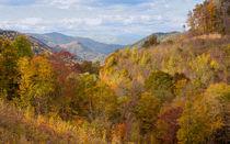 Autumn Colors On The Blue Ridge Parkway von John Bailey