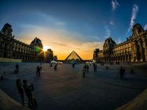 Musee du Louvre von Alessandro Carpentiero