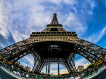 Tour Eiffel from below  by Alessandro Carpentiero