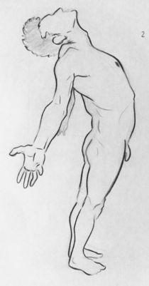 Nude Study-Male 3 by Raechel Raines