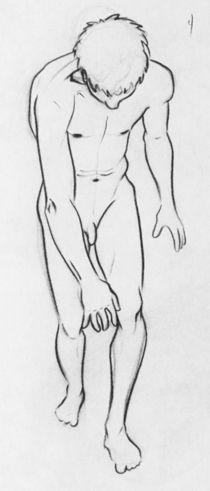 Nude Study-Male 2 by Raechel Raines