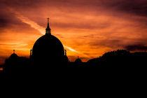 Berlin - Sonnenuntergang über dem Berliner Dom von Bea Böhm