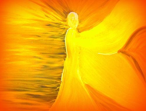 Yellow-angel