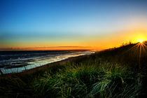 Sunset on the beach. von Jackes Photography Jackes Photography