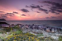 Sonnenaufgang am Mittelmeer Mallorca von Dennis Stracke