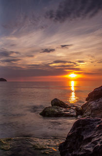 Sonnenaufgang auf Mallorca von Dennis Stracke