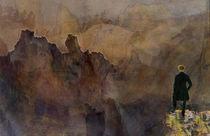 Der Wanderer über dem Nebelmeer von Marie Luise Strohmenger