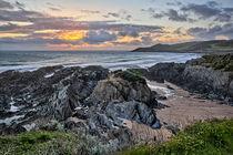 Barricane Beach, Woolacombe. von Dave Wilkinson